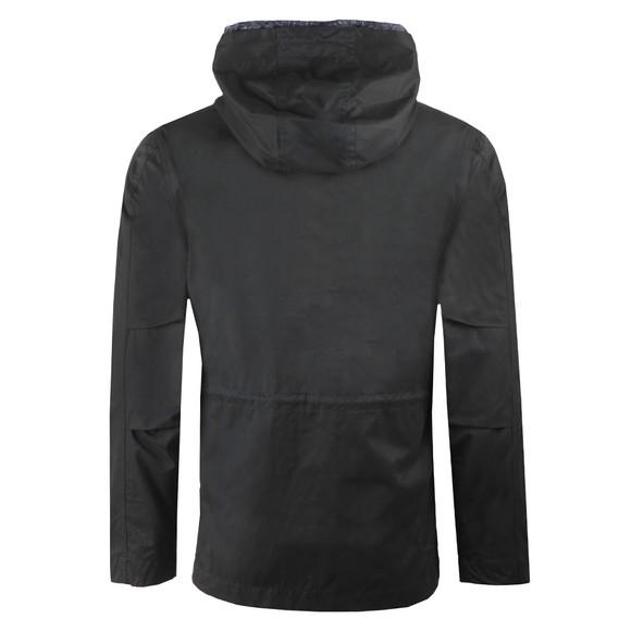 Pretty Green Mens Black Cotton Zip Up Hooded Jacket main image