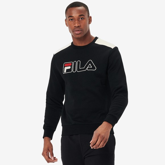 Fila Mens Black .Basil 2 Sweatshirt