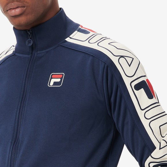 Fila Mens Blue Gatlin Track Top