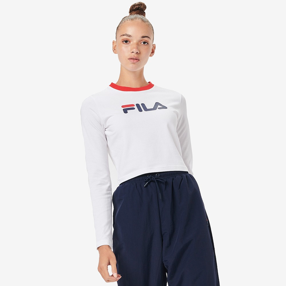 Jaya Long Sleeve Crop T Shirt main image