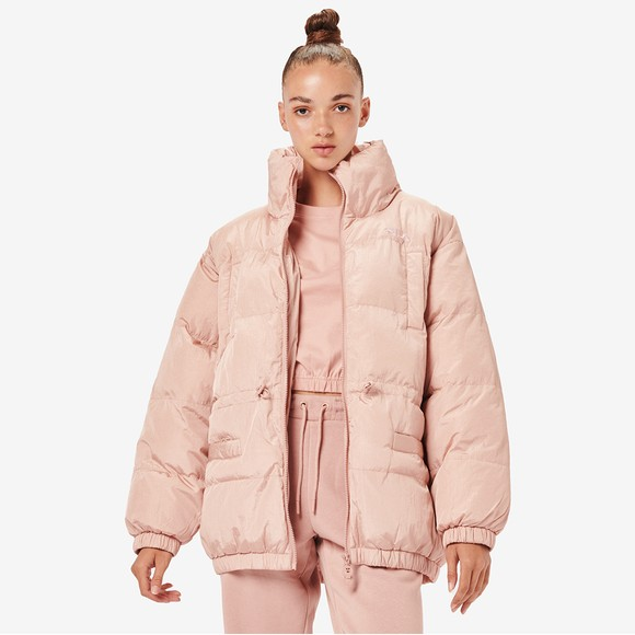 Fila Womens Pink Samaira Iridescent Jacket