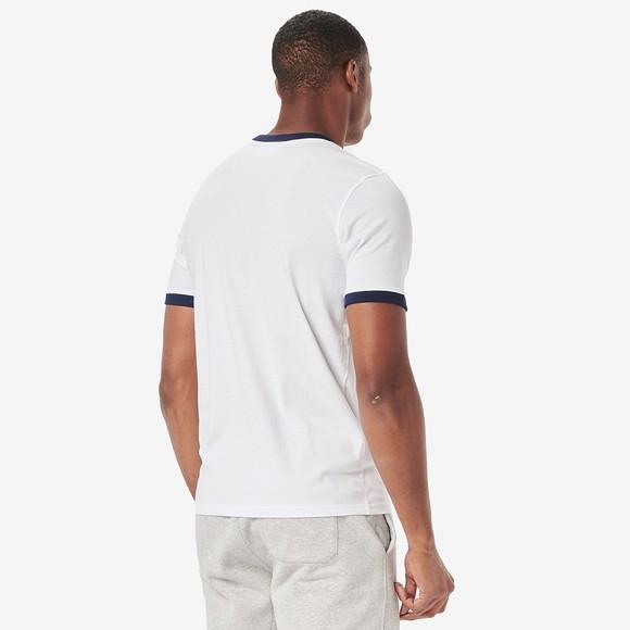 Fila Mens White Marconi Crew T-Shirt main image