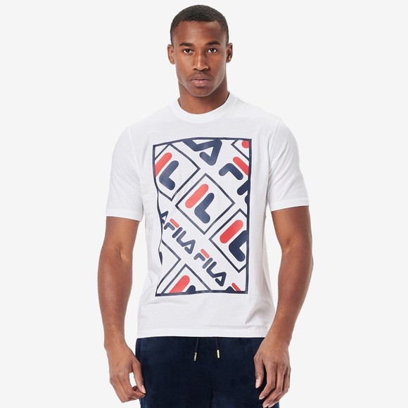 Fila Mens White Jalen T-Shirt
