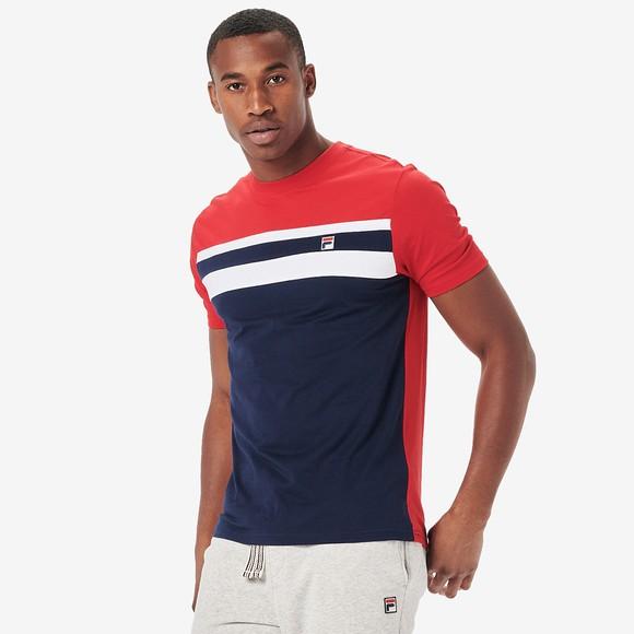 Fila Mens Blue Dover T-Shirt main image
