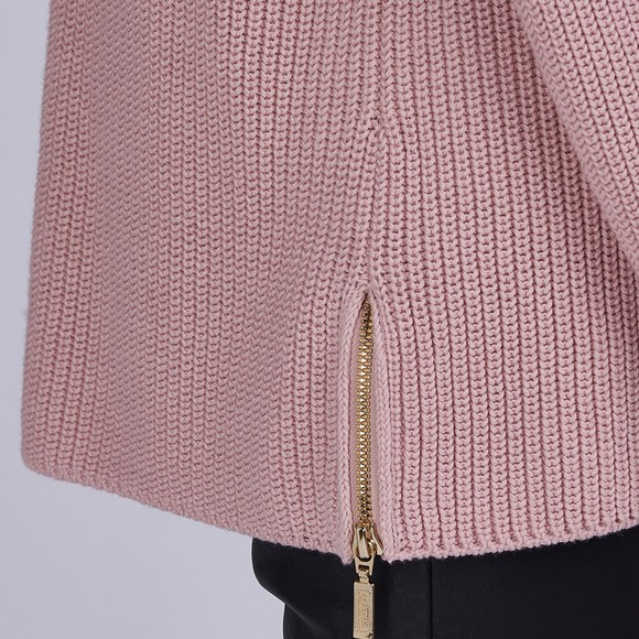 Barbour International Womens Pink Kendrew Knit Jumper main image