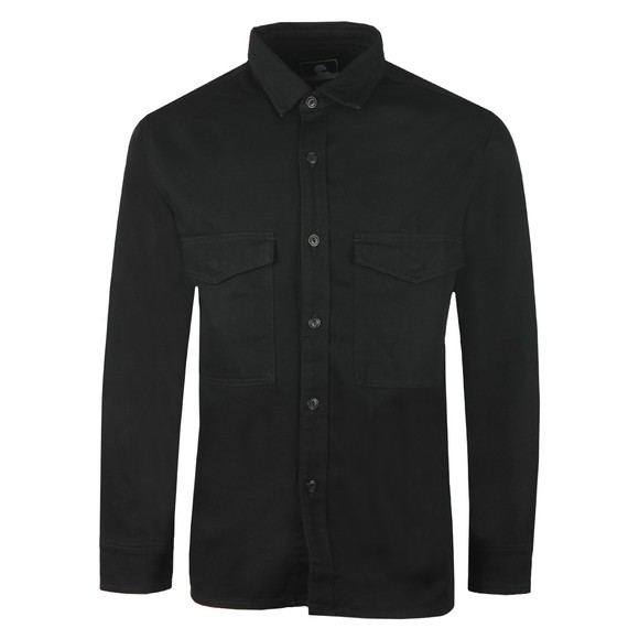 Edwin Mens Black Big Shirt