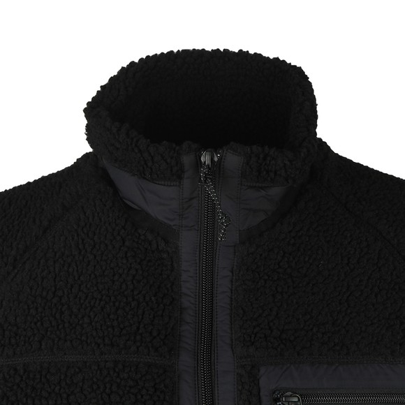 Carhartt WIP Mens Black Prentis Fleece Gilet