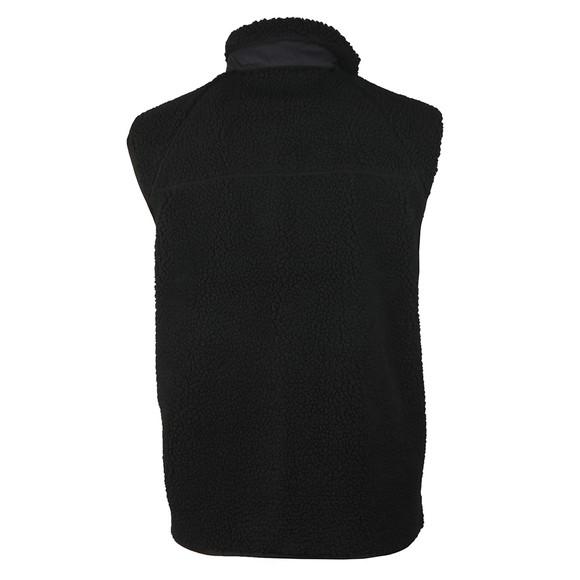 Carhartt WIP Mens Black Prentis Fleece Gilet main image