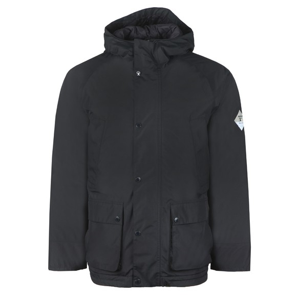 Barbour Beacon Mens Blue Bedale Hooded Jacket main image