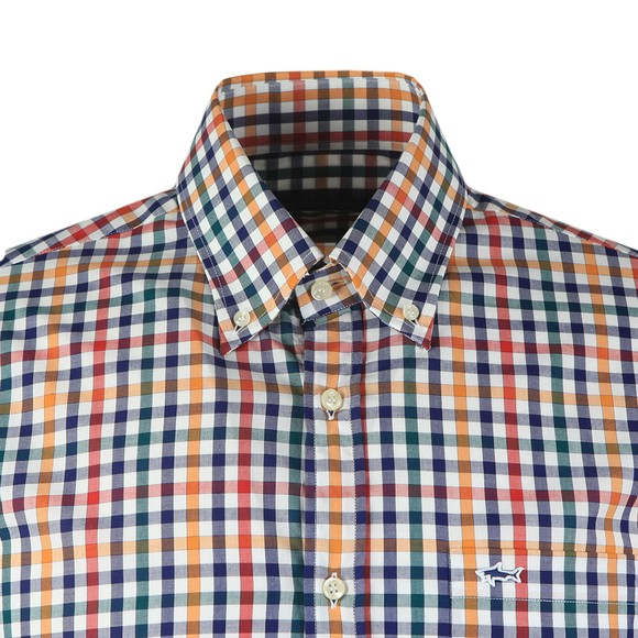 Paul & Shark Mens Red Check Shirt
