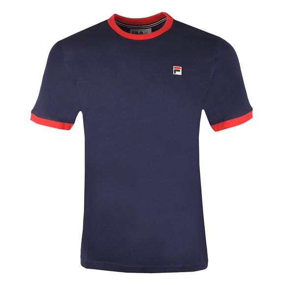 Fila Mens Blue Marconi Crew T-Shirt main image