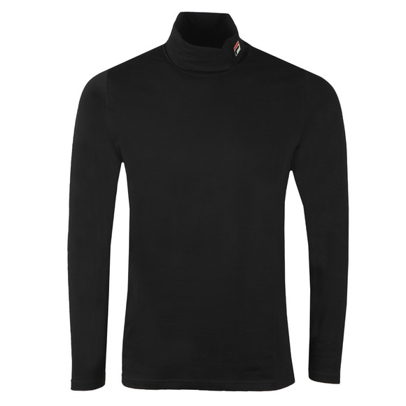 Fila Mens Black Classic Roll Neck