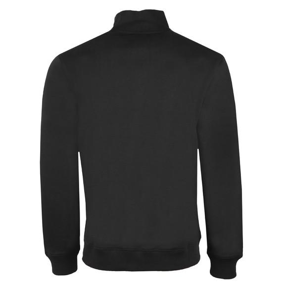 Sergio Tacchini Mens Black Temple 1/4 Zip Sweatshirt main image