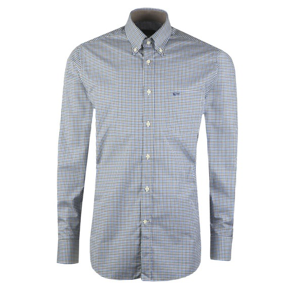 Paul & Shark Mens Blue Check Shirt