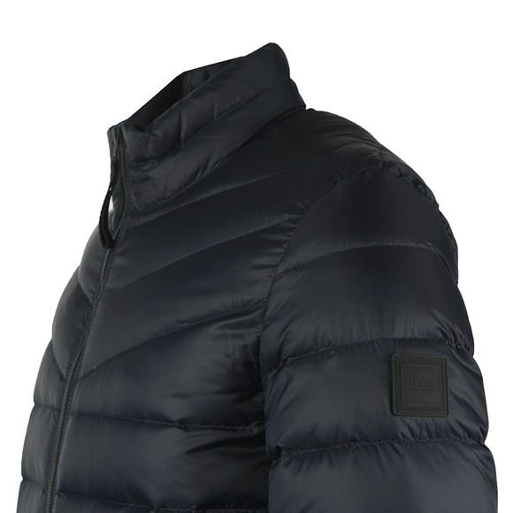 BOSS Mens Blue Casual Olido Puffer Jacket