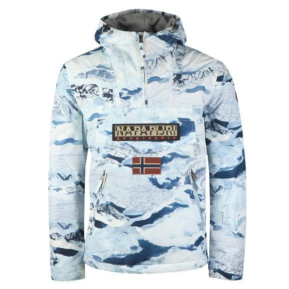 Napapijri Mens White Rainforest Pkt Jacket