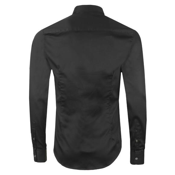 Emporio Armani Mens Black Stretch Shirt main image
