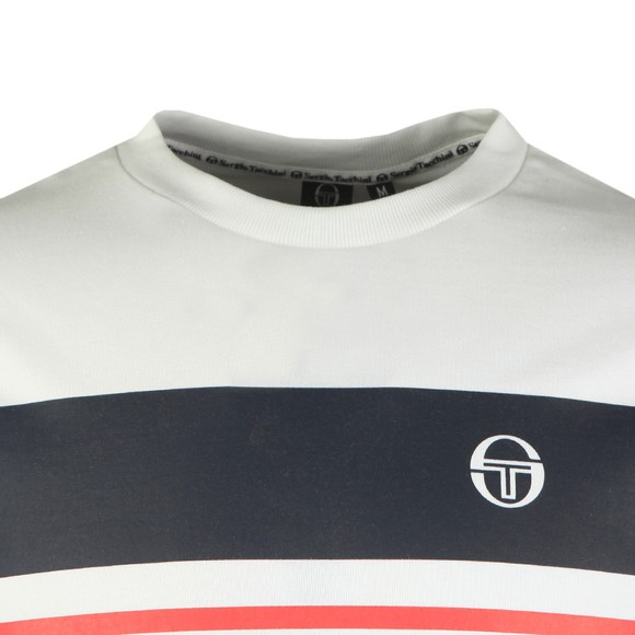 Sergio Tacchini Mens White Mayor T-Shirt