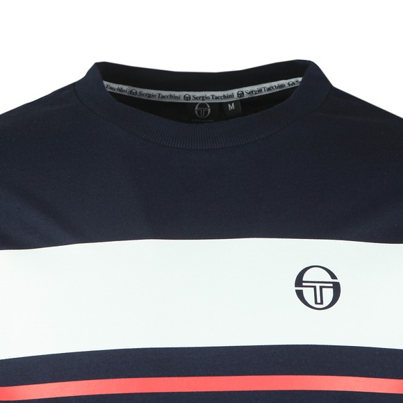 Sergio Tacchini Mens Blue Mayor T-Shirt