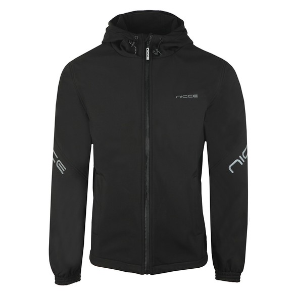 Nicce Mens Black Nexo Jacket