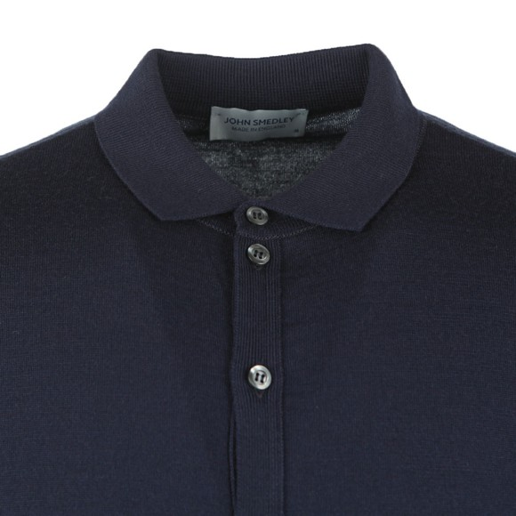 John Smedley Mens Black Roston Merino Shirt