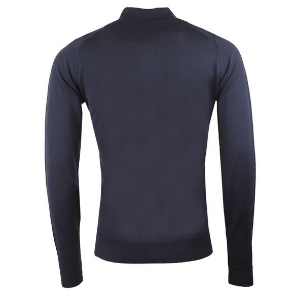 John Smedley Mens Black Roston Merino Shirt main image