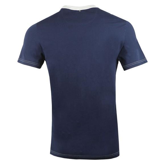 Pretty Green Mens Blue Logo T-Shirt main image