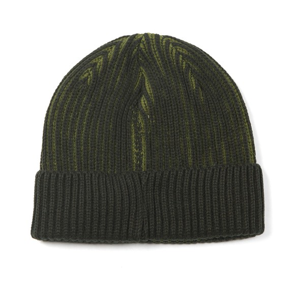 Barbour Beacon Mens Green Two Tone Beanie main image