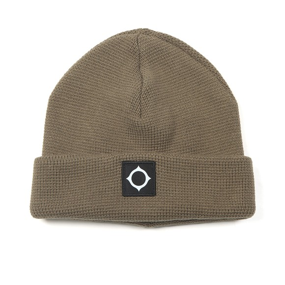 Ma.Strum Mens Green Milano Knit Hat