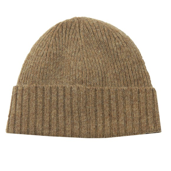 Barbour Lifestyle Mens Brown Carlton Beanie main image