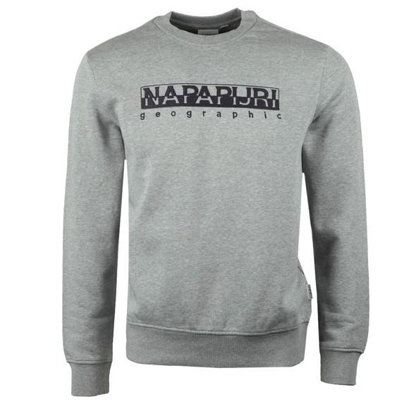 Napapijri Mens Grey Beble C Sweatshirt