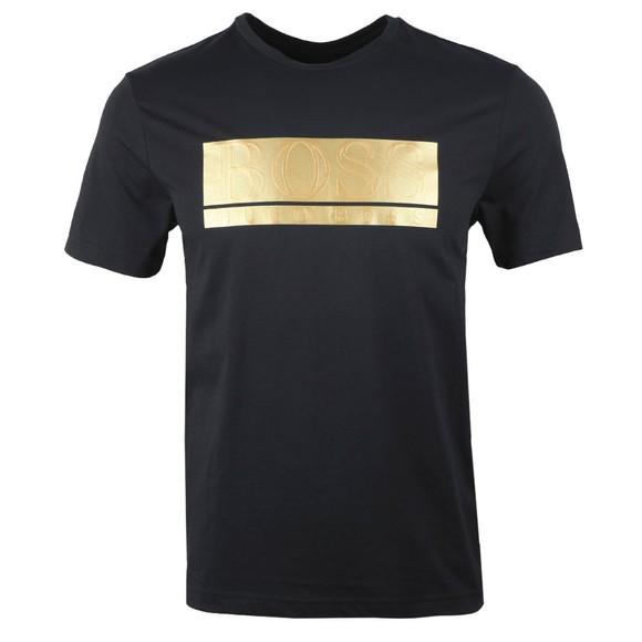 BOSS Mens Blue Athleisure Teeonic T-Shirt