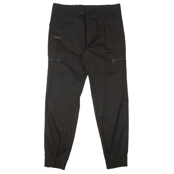 HUGO Mens Black Feril204 Trouser