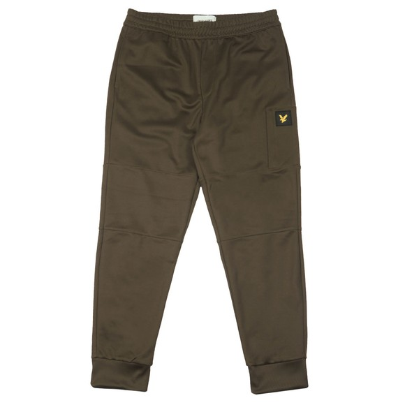 Lyle and Scott Mens Green Pocket Sweatpant