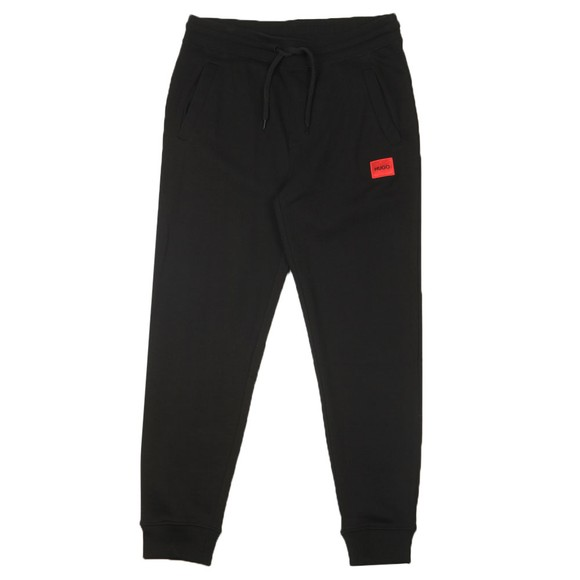 HUGO Mens Black Doak204 Jogger