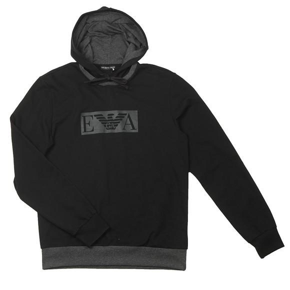 Emporio Armani Mens Black Loungewear Tracksuit