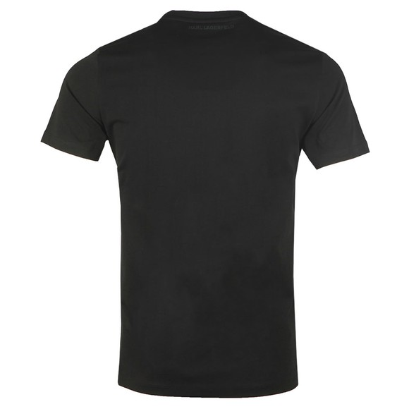 Karl Lagerfeld Mens Black Karl Ikonic T-Shirt main image