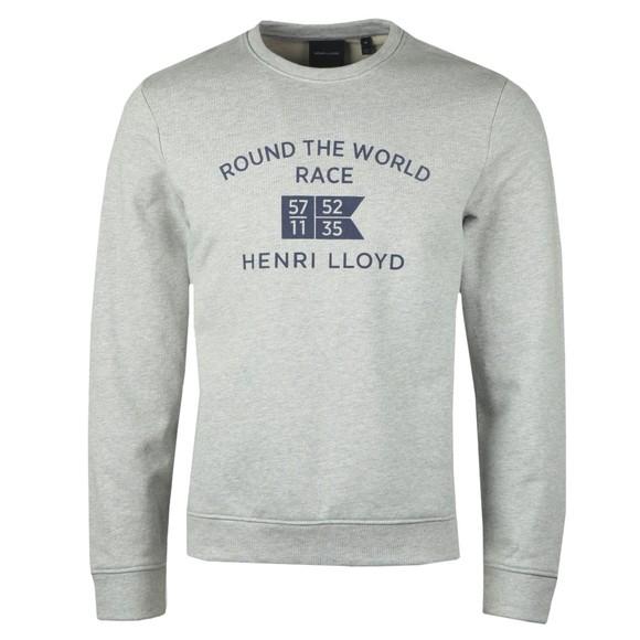 Henri Lloyd Mens Grey RWR Sweatshirt