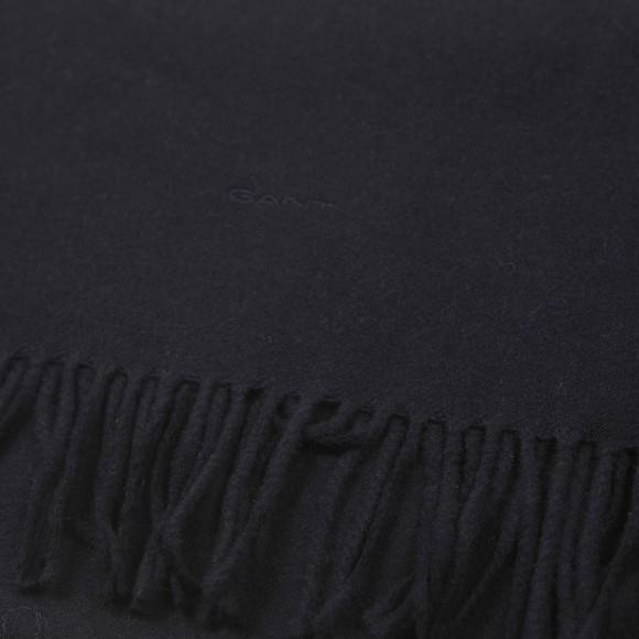 Gant Mens Blue Wool Scarf