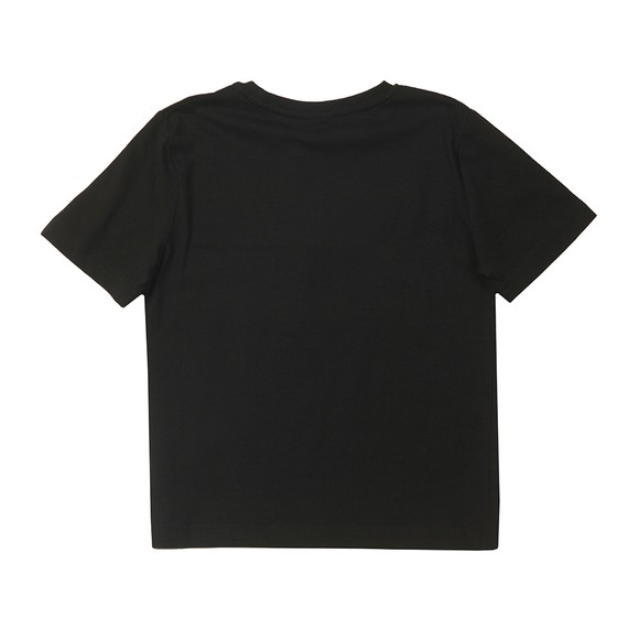 BOSS Boys Black J25G89 Logo T Shirt