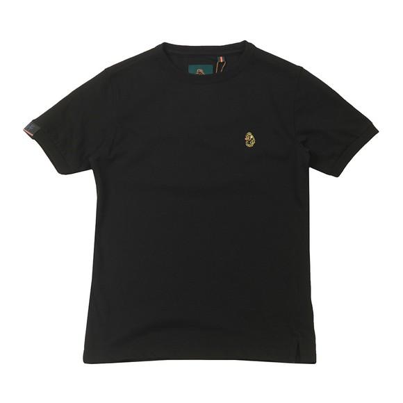 Luke Sport Boys Black Classic Small Logo T-Shirt