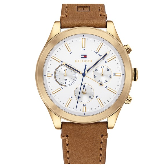Tommy Hilfiger Mens Brown Ashton Watch