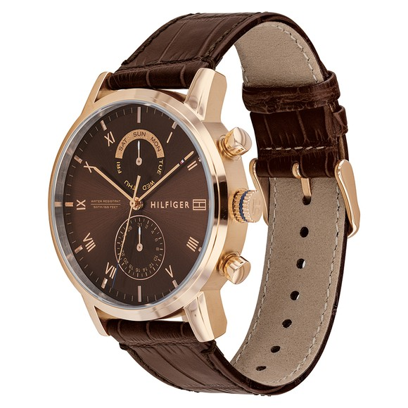 Tommy Hilfiger Mens Brown 1710400 Watch main image