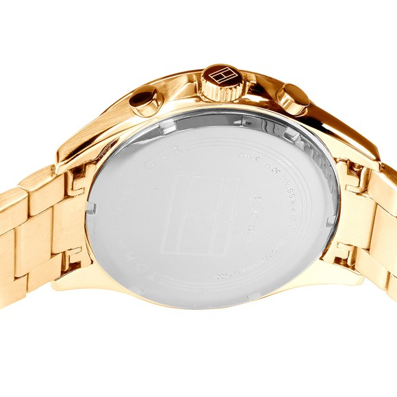 Tommy Hilfiger Mens Gold Gold Plated Watch