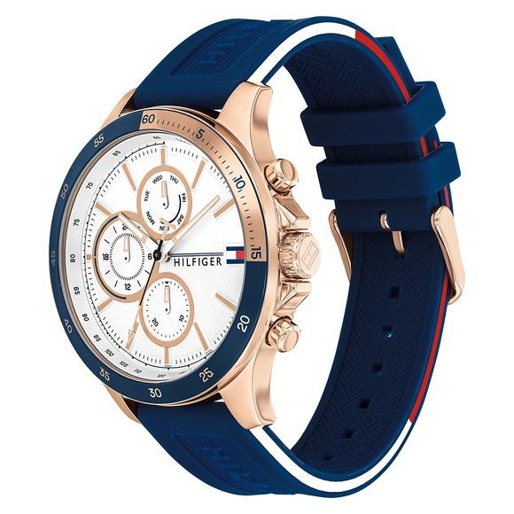 Tommy Hilfiger Mens Blue Bank Watch main image