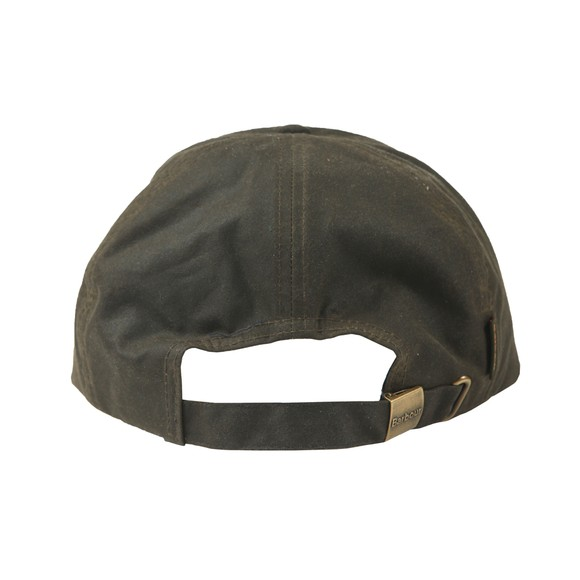 Barbour Lifestyle Mens Green Wax Sports Cap main image