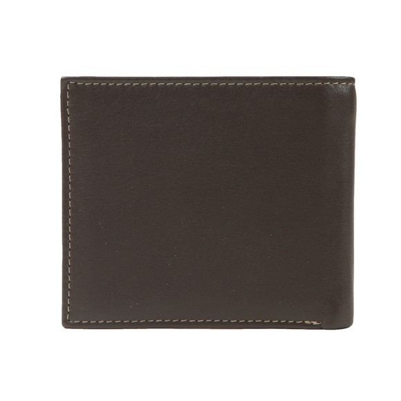 Barbour Lifestyle Mens Brown Elvington Leather Billfold Coin Wallet main image