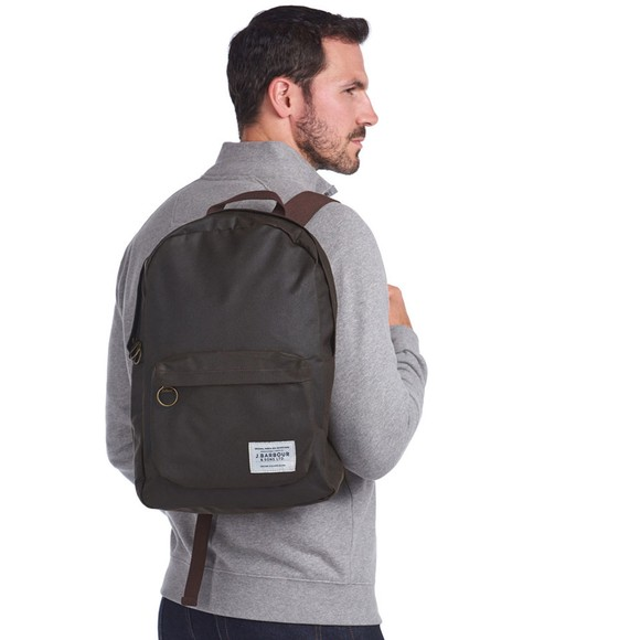 Barbour Lifestyle Mens Green Eadan Backpack