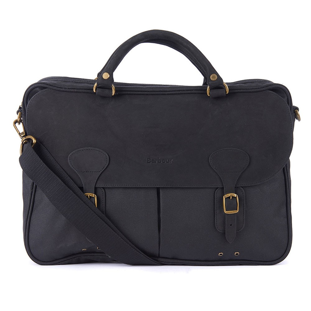 Wax Leather Briefcase main image