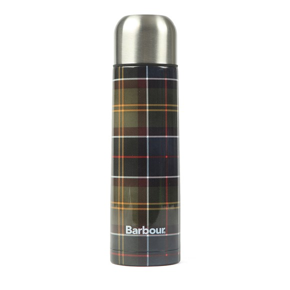 Barbour Lifestyle Womens Green Tartan Flask
